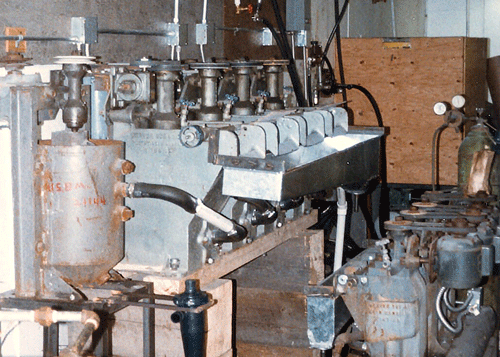 Denver mineral float cells section
